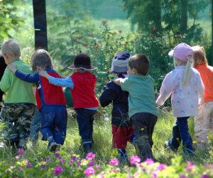 group children outdoor